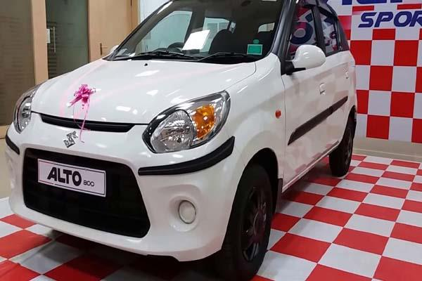 sales of maruti alto across 35 million units