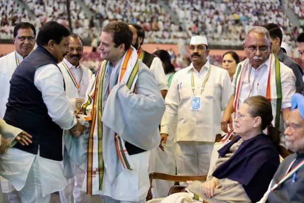 photos of old leaders not seen at the congress plenary session