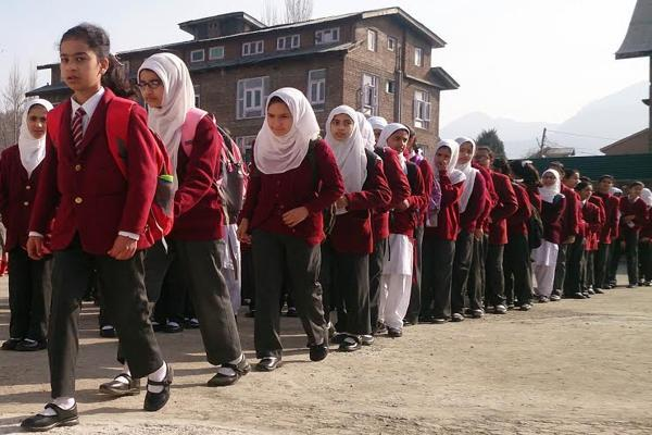 schools closed in kashmir on fourth day