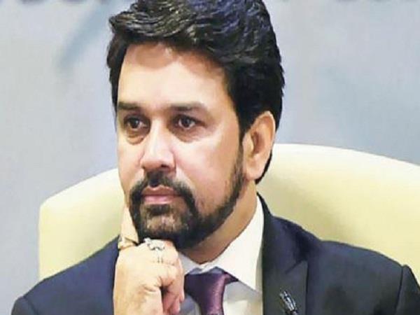 congress youth leader abhishek rana charged on anurag thakur