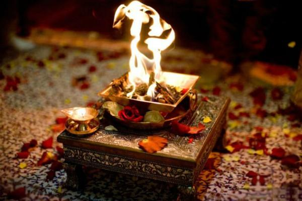 why yagya is done at the end of the worship