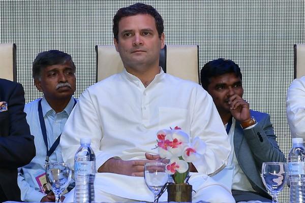 rahul raised questions on namo app