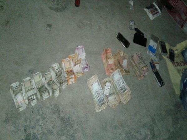 big action of police against drug addict