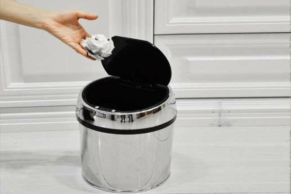 dustbin in the house