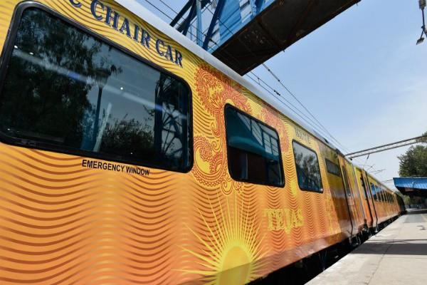 important news for those traveling in tejas shatabdi trains