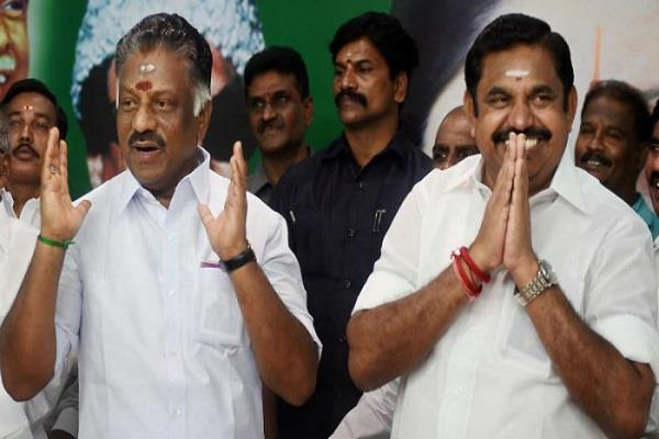 aiadmk says decision on non confidence motion