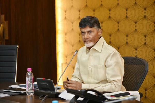 surprised by the impudent attitude of the center cm chandrababu naidu