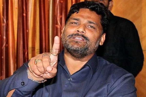 pappu yadav injured during campaigning