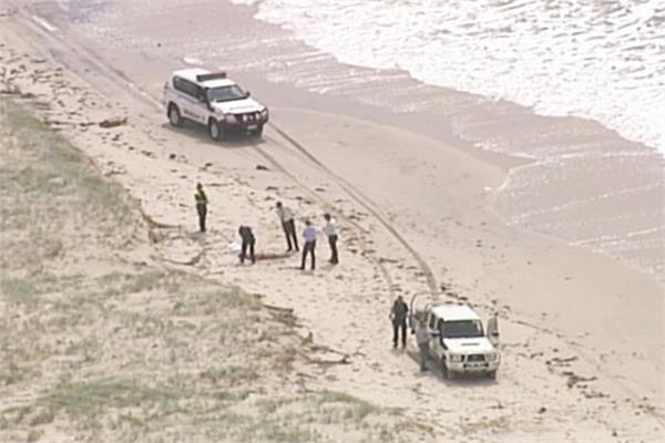 3 bodies found on brisbane beach