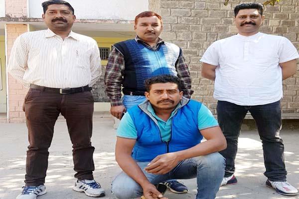 bilaspur proclaimed criminal arrested