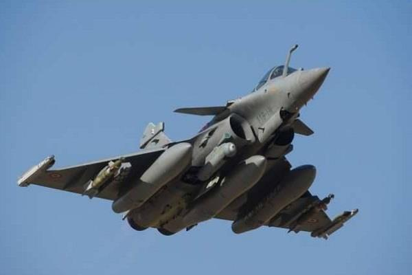 rafael aircraft to meet india on time france