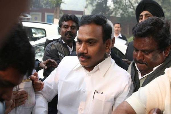 petition filed in delhi high court against a raja s release