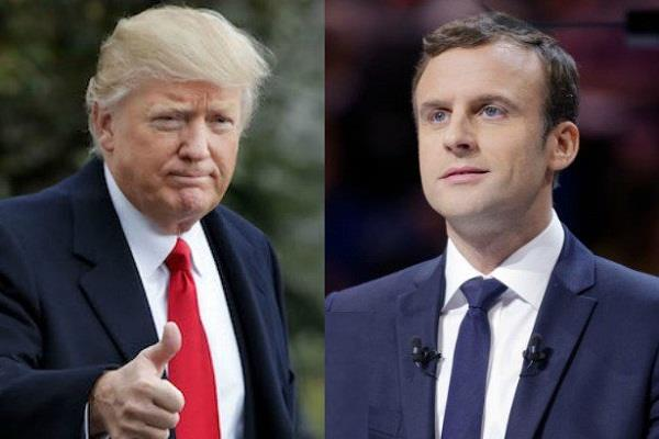 macrons take a pinch on the trumpet after retreating from paris settlement