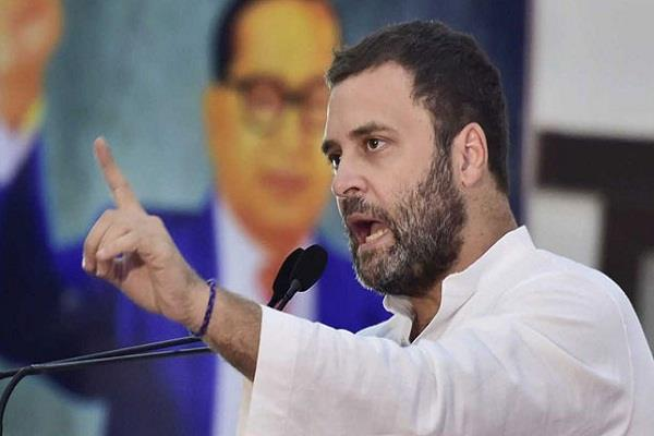 rahul again wrote a poem on the modi government