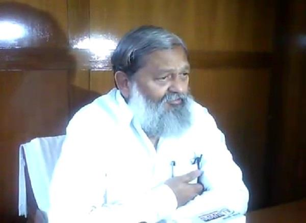 government is totally serious about addiction anil vij