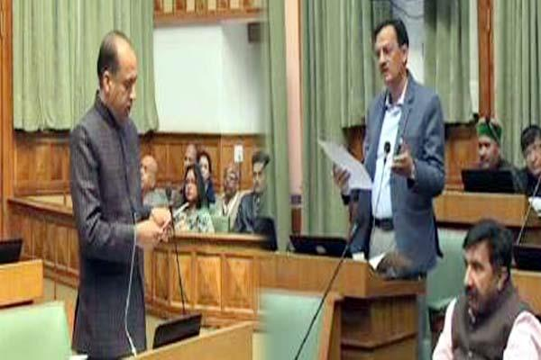 cm jairam harshvardhan chauhan face to face on budget issue