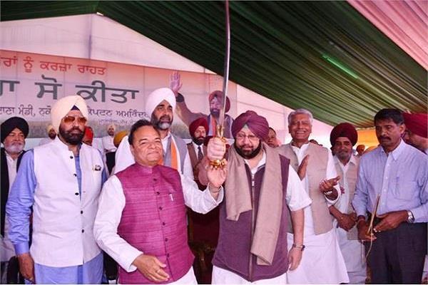 captains released rs 162 crores development projects of shahkot nakodar