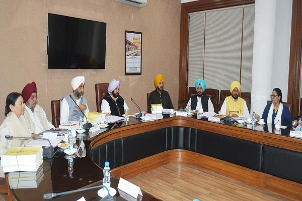 punjab cabinet decision green signal for laying of gas pipelines by cabinet