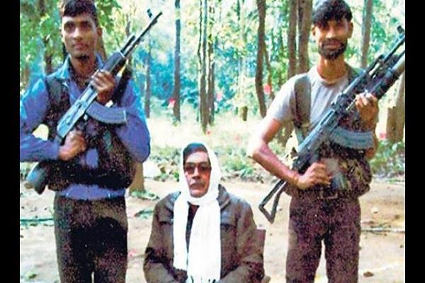 death of 1 crore naxal commander arvind due to illness