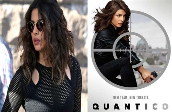 priyanka chopra in quantico 3 priyanka shared poster and first look for quantic