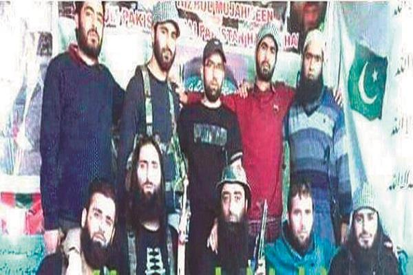 mass recruitment of terrorists again in kashmir
