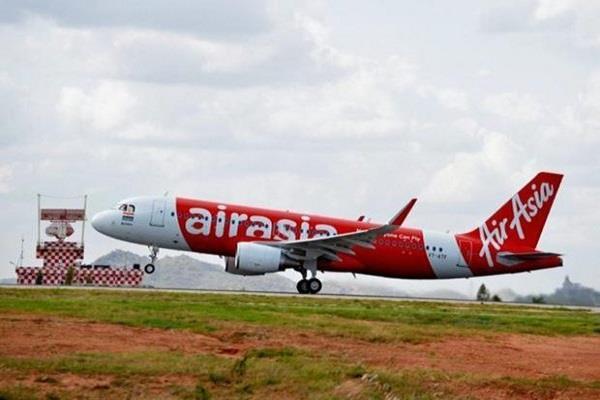 18th aircraft in air asia india fleet