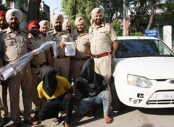 gangster harmanjeet and joaban arrest