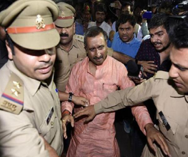 unnao gang rape bjp mla kuldeep sengar arrested in cbi custody