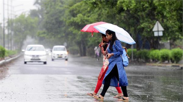 rain with thunder in next 24 hours