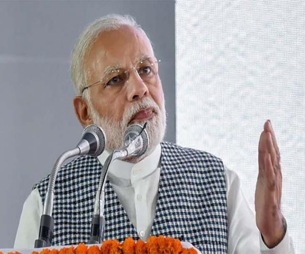 pm smiles on unnao kathua rape case says daughters will get justice