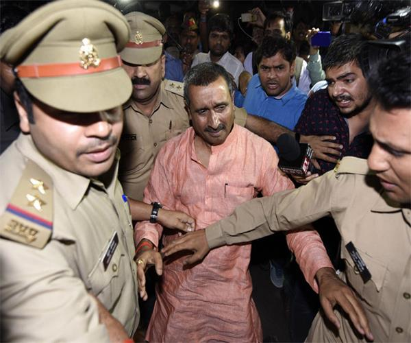 unnao gang rape bjp mla kuldeep sengar can present in court today