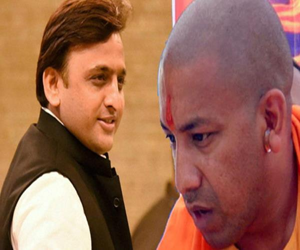 akhilesh targets a simple yogi in the case of bjp legislator misbehavior