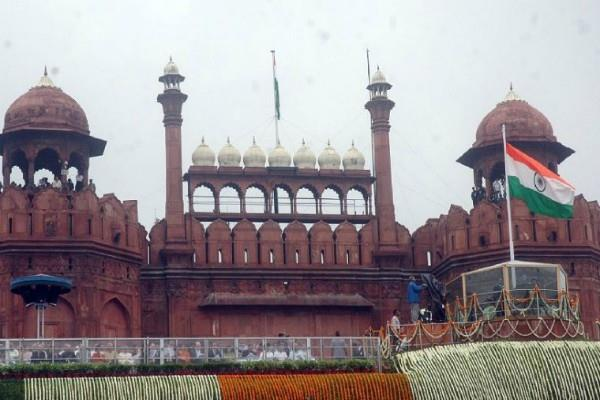 red fort on the social media