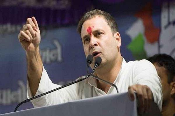 rahul gandhi on amethi two day tour