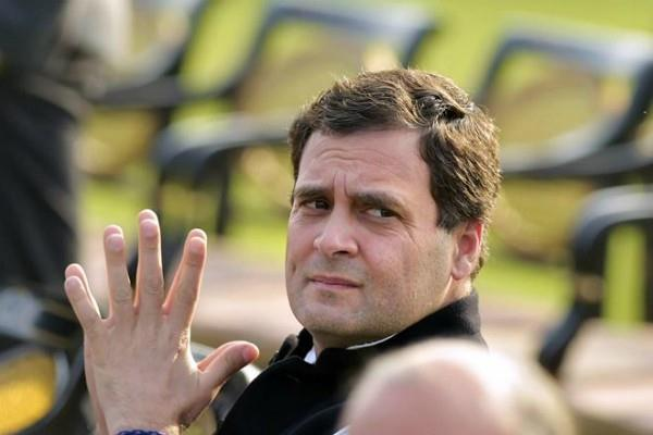 technical disturbances in rahul gandhi plane