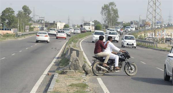 lok adalat suspends toll collection on killer road