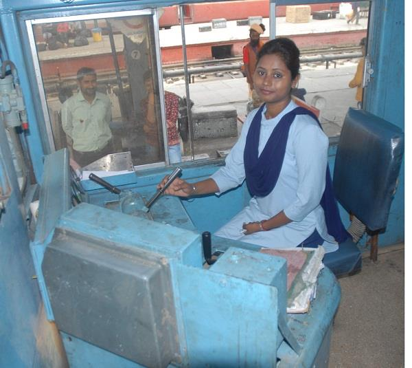 women assistant loco pilot train wandered from jalandhar to hoshiarpur