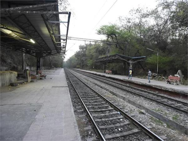 construction work on jammu pathankot division on april 20