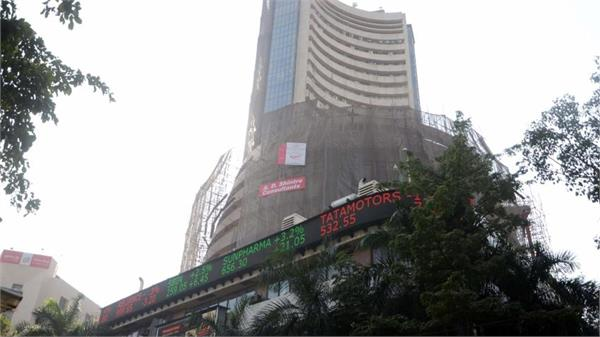 sensex up 107 points and nifty close to 10500
