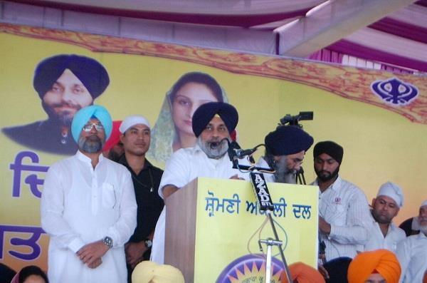 sidhu has no right to stay in power sukhbir