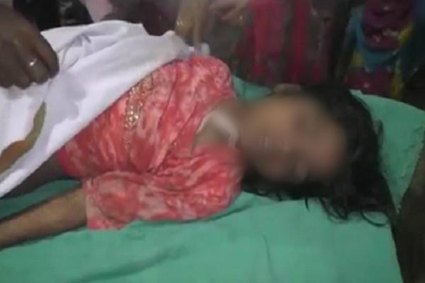 8 year old innocent woman strangled after rape
