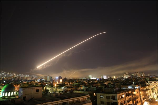 syrian conflict can not be resolved may air strikes again