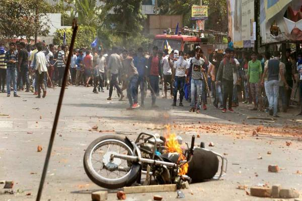 sc  st act controversy curfew continues in gwalior bhind and morena