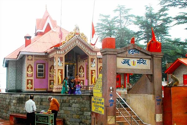 jakhu hanuman temple in shimla