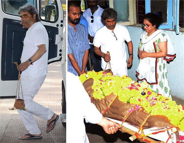 vishal bhardwaj mother dies gulzar and other celebs reached