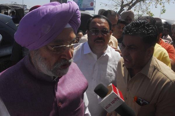 bjp defends against negative role of congress party
