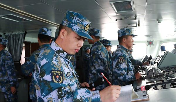 chinese military using new equipment for all weather border