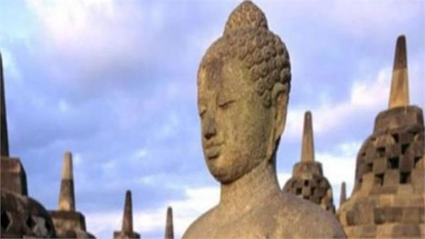 1200 years old buddha statue found in tibet