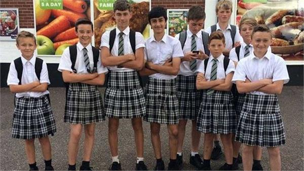 boys to be allowed to wear skirts at school in britain