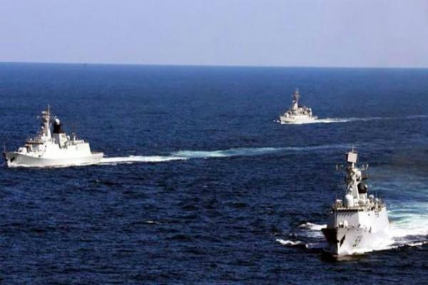 chinese warships seen in the indian ocean